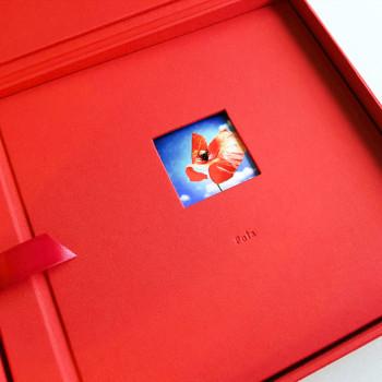 Czerwony, czcionka 5,5 mm